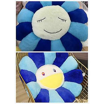 1pc Super Big Plush Sun Flowers Pillow Soft Toy Stuffed Mats Meditación Cojín Piso para Niños