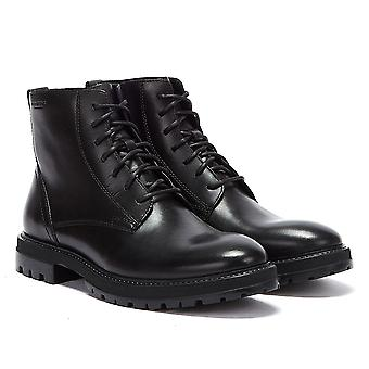 Vagabond Johnny Lace-up Mens Black Boots