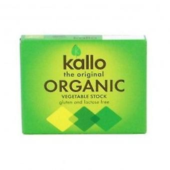Kallo - Organic Vegetable Stock Cubes 66g