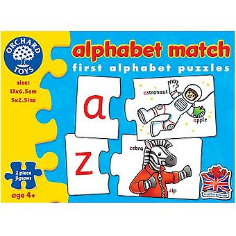 Orchard Toys Puzzle Alphabet Match