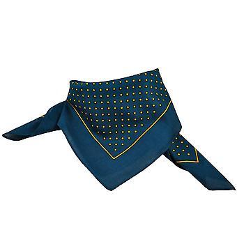 Krawatten Planet Marine blau & Gold Polka Dot Bandana Neckerchief