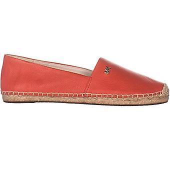 مايكل كورس كندريك زلة على Espadrille الأحذية المسطحة حجم 10 كورال البحر