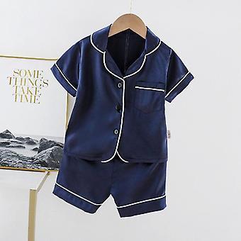Sommer Pyjama Sets süße Bär Mädchen Kleidung Baby Jungen Sleepwear Kinder Sleepwear