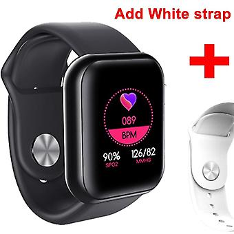 Waterproof Blood Pressure Smartwatch Heart Rate Monitor Sleep Tracker Clock Watch For Android Ios