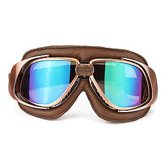 Motorcycle Bike Racing Scooter Pilot Helmet Goggles Glasses Windproof Goggles
