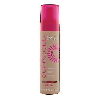 Sunkissed Self Tan Mousse 200ml Medio