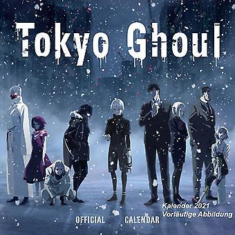 Tokyo Ghoul Calendar 2021 Official Calendar 2021, 12 months, original English version.