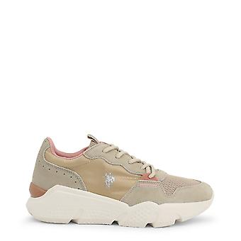Us polo assn. 4144s0 women's fabric suede sneakers