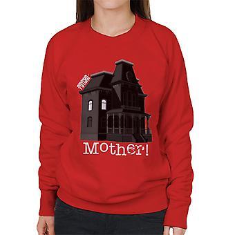 Psycho Norman Bates Home Mother Women's Sweatshirt