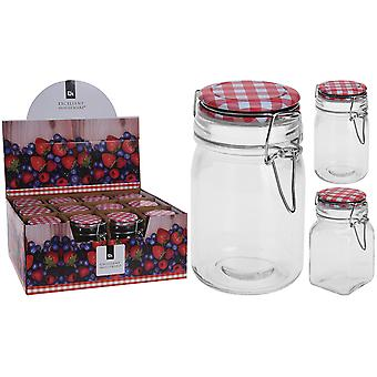 Excellent Housewares Storage Jar With Clip Lid 250ml CD1000960