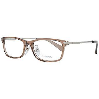 Beige Men Optical Frames