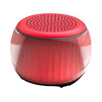 Velev M07 Trådløs bluetooth 5 højttaler Mini bærbar farverig LED