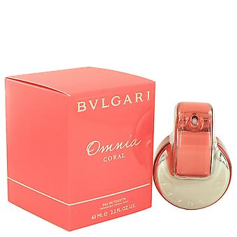 Omnia Coral By Bvlgari EDT Spray 65ml