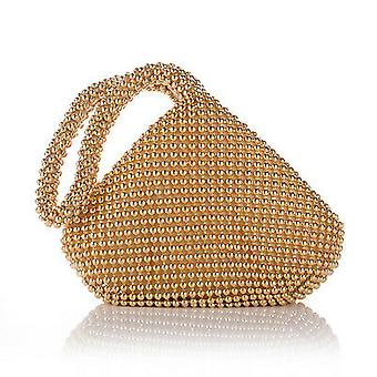 Alumium Sequins Women's Evening Party Prom Wedding Clutch Bag