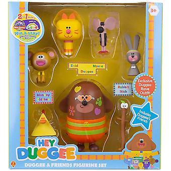 Hey Duggee Duggee and Friends Figurine Set