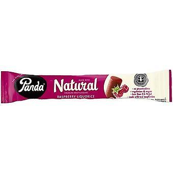 Panda Natural Raspberry Liquorice Bar 32g x36