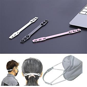 Troisième vitesse réglable - Crochet d'extension de mini masque en plastique créatif