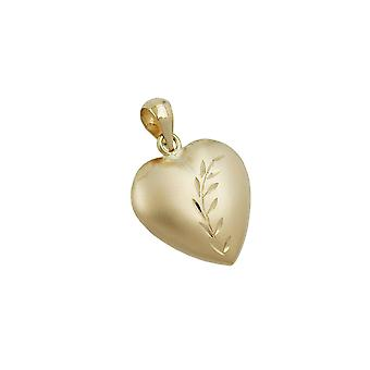 Anhänger Herz 9k Gold