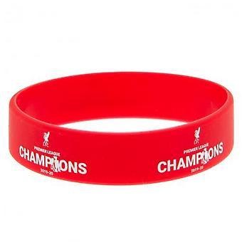 Liverpool FC Premier League Champions Silicone Wristband