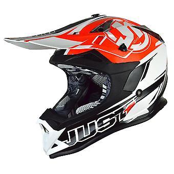 Just1 J32 Pro Rave MX Helmet Orange Motocross ATV Off Road ACU Gold XS-XL