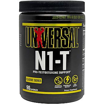 Universal Nutrition N1-T, 90 Capsules, Testosterone and Natural Hormone Enhancer
