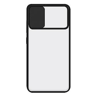Mobile Phone Case with TPU Edge Samsung Galaxy A41 KSIX Duo Soft Cam Protect Black