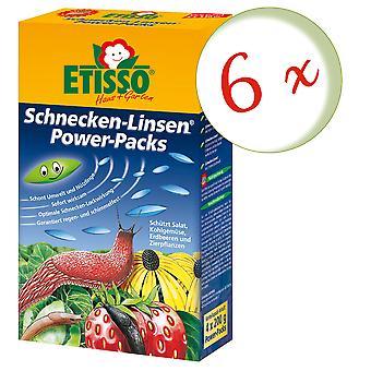Sparset: 6 x FRUNOL DELICIA® Etisso® Schnecken-Linsen Power-Pack, 4 x 200 g