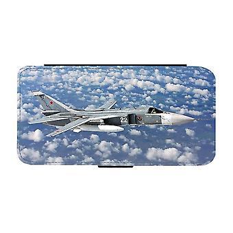 Sukhoi Su-24 Attackflygplan iPhone 12 Mini Plånboksfodral