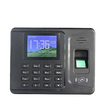 Présence biométrique de temps d'empreinte digitale avec le logiciel libre