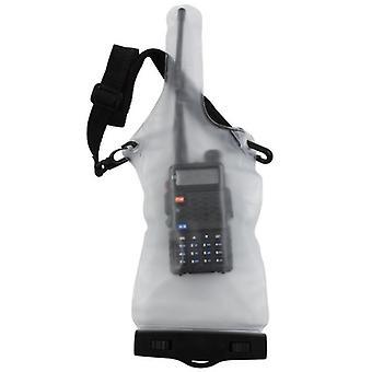 Pvc Waterproof Bag Case Pouch voor Walkie Talkie Two-way Radio's Full Protector