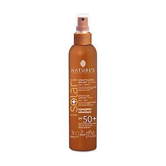 Solar fluid spray for children SPF50 + 200 ml