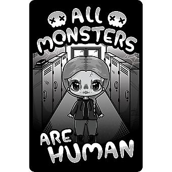 Mio Moon All Monsters Are Human Plaque