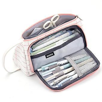 Piórnik o dużej pojemności, torba na pióro szkolne / papeteria w torebce