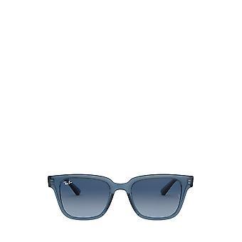 Ray-Ban RB4323 occhiali da sole unisex blu scuro trasparenti