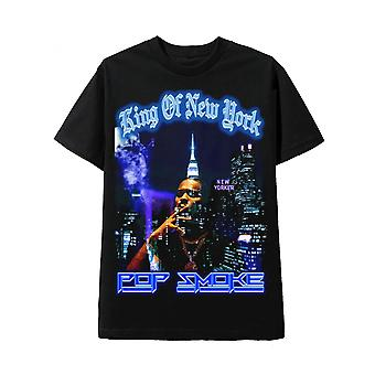 Pop Smoke Svart T-shirt