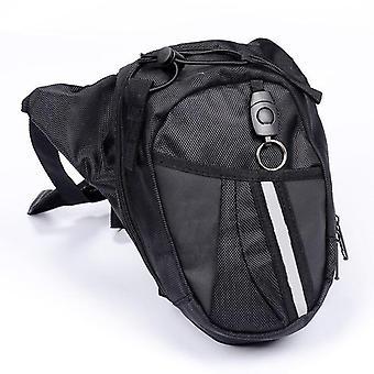 Motorcycle Waist Leg Waterproof Waistpack Drop Belt Pouch Bag