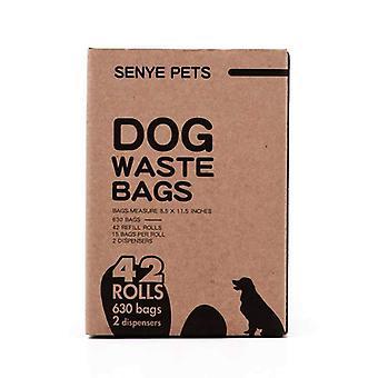 42 rollos de bolsas de caca de perro