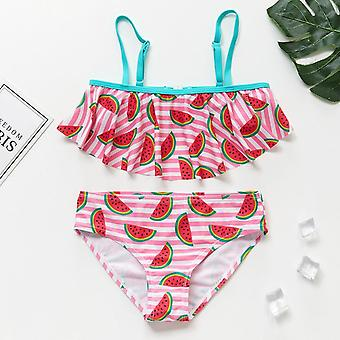 Cute Print Swimwear Set