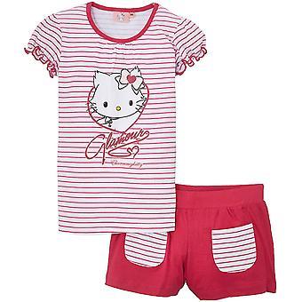 Girls Charmmy Hello Kitty Summer T-shirt & Shorts Set