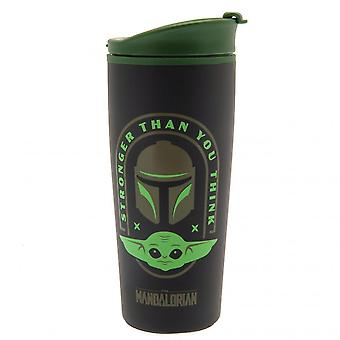 Star Wars: The Mandalorian Metal Travel Mug