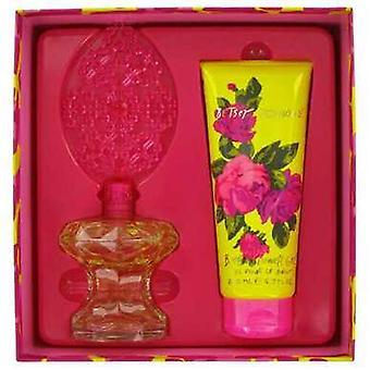 Betsey Johnson By Betsey Johnson Gift Set -- 3.4 Oz Eau De Parfum Spray + 6.7 Oz Shower Gel (women) V728-467421