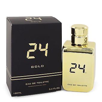 24 Gold The Fragrance Eau De Toilette Spray By Scentstory 3.4 oz Eau De Toilette Spray