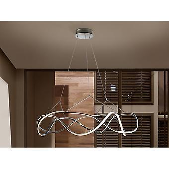 Schuller Molly - Luz colgante LED integrada, Chrome