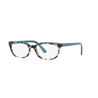 Prada VPR13V 4751O1 Spotted Brown Opal-Green Glasses