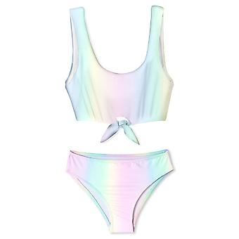 Regenboog Voorste Stropdas Bikini