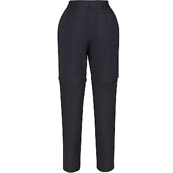 Regatta Damen Highton Zip Off Beine Outdoor Walking Hose Hose - schwarz