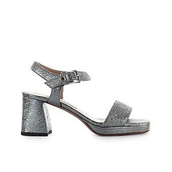L'autre Chose Steel Leather Sandal