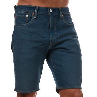 Men's Levis 412 Sunset Slim Shorts in Blau