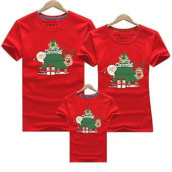 Crăciun fericit familie potrivire mama copil tricou