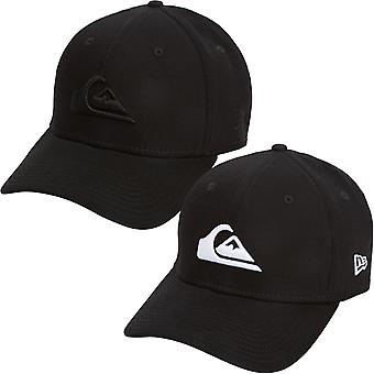 Quiksilver Mens Mountain and Wave Stretch Fit Baseball Cap Hat